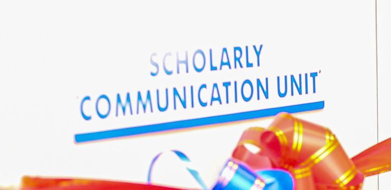 NEW: Scholarly Communication Unit